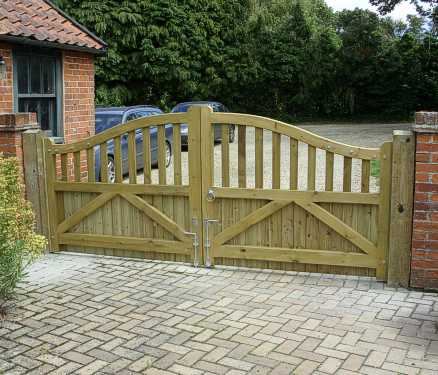 Stour gates pressure treated reverse